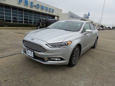 2017 Ford Fusion Titanium Used 2017 Ford Fusion Titanium Sedan EcoBoost