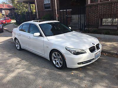 2008 BMW 5-Series 4-Door Sedan 2008 BMW 535i - ALPINE WHITE ON BLACK - $12995