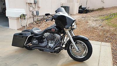 2004 Harley-Davidson Touring  Custom Harley Davidson Electra-glide Standard FLHT Black