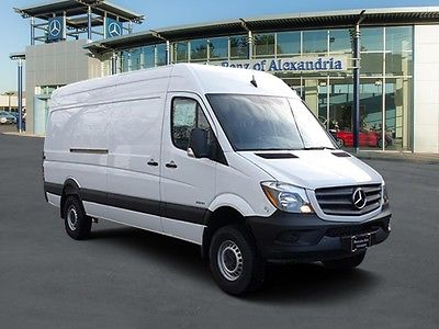 2016 Mercedes-Benz Sprinter 2500/144 wb 4x4 Cargo Van 2016 Mercedes-Benz Sprinter Cargo Vans  10 Miles Arctic White Full-size Cargo Va