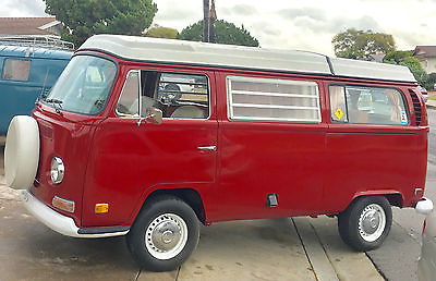 1971 Volkswagen Bus/Vanagon CAMPMOBILE- REBUILT ENGINE-NICE ORIG COND!! 1971 VOLKSWAGEN BUS CAMPMOBILE - REBUILT ENGINE/TRANS - NICE ORIGINAL CONDITION