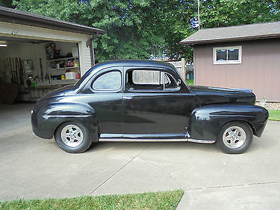 1947 Ford 2 door coupe ???? 1947 Ford Coupe - Fat Fender Project - Runs - HOT ROD - rat rod - drive now!
