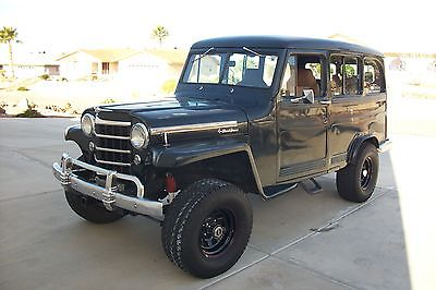 1951 Willys Deluxe 1951 Willys 2DR 4x4   Wagon with 4 seats