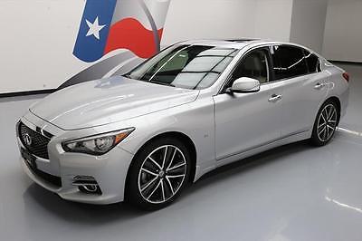 2014 Infiniti Q50  2014 INFINITI Q50 PREMIUM HTD SEATS SUNROOF NAV 41K MI #677032 Texas Direct Auto