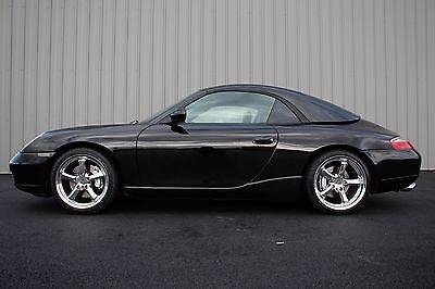 2000 Porsche 911 cabriolet w/ hard top AWD 2000 Porsche 911 Carrera 4 AWD sport & winter package