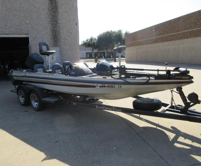 19.6ft King Fisher 4person! Bass Boat Fishing HDS 8 + HDS 5 +GPS + Extra's 150H
