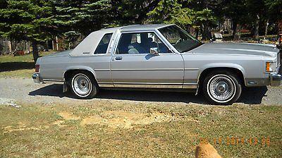1987 Mercury Grand Marquis LS Antique Grand Mercury Marquis