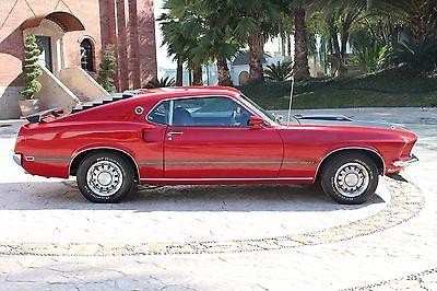 1969 Ford Mustang Mach 1 1969 Mustang Mach 1