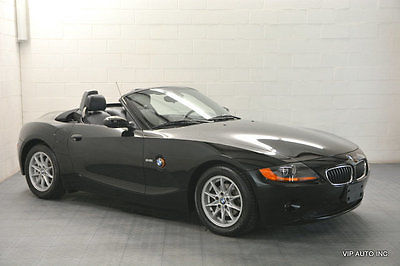2003 BMW Z4 Roadster 2.5i BMW Z4 Roadster Premium Package Convenience Package Heated Seats Power Top