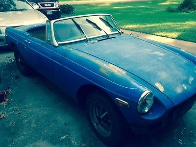 1976 MG MGB 1976 MGB project complete except some interior, no title