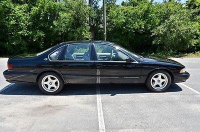 1996 Chevrolet Impala Impalla SS 1996 Impalla SS   Black / Grey   **** 79xxx MILES *****   PRISTINE !!