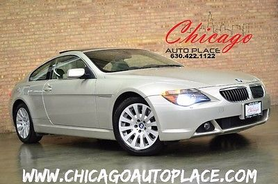 2004 BMW 6-Series Base Coupe 2-Door 2004 BMW 6 Series 645Ci NAVI BACKUP CAM HEATED SEATS