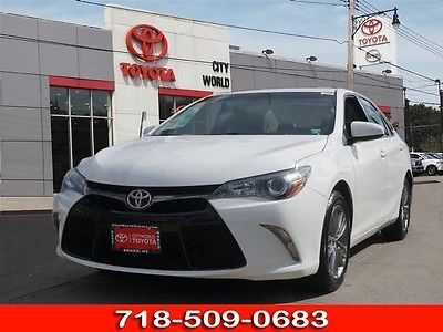 2015 Toyota Camry LE 2015 Toyota Camry LE 42128 Miles White LE 4dr Sedan 4 Cylinder Shiftable Automat
