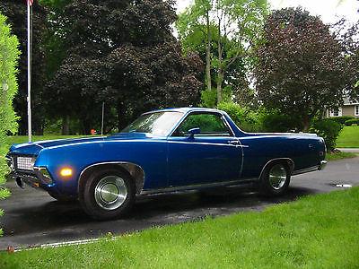 1971 Ford Ranchero Blue 1971 Ford Ranchero