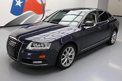 2010 Audi A6 Base Sedan 4-Door 2010 AUDI A6 3.2 PREMIUM PLUS V6 SUNROOF NAV 51K MILES #005812 Texas Direct Auto