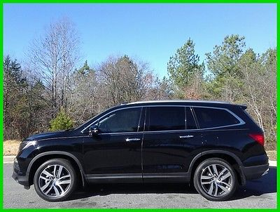 2016 Honda Pilot Touring 2016 HONDA PILOT TOURING LEATHER 3RD ROW - $499 P/MO, $200 DOWN!