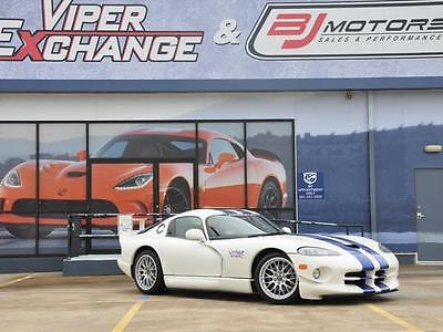 1998 Dodge Viper -- 1998 Dodge Viper GTSR/GT2 Champion Edition Viper Chassis #082