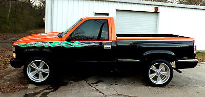 1989 Chevrolet C/K Pickup 1500 C-10 C/K 1500 Truck Chevy Gmc Silverado SS C15 Chevy Truck C/K 1500 STEP SIDE V8 SILVERADO HOUSE OF COLORS PAINT SIERRA CUSTOM