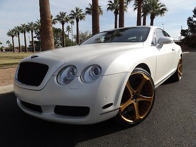 2004 Bentley Continental 2dr Cpe GT 2004 Bentley Continental GT CUTOM WRAP GIOVANNA WHEELS ONE OF A KIND MUST SEE