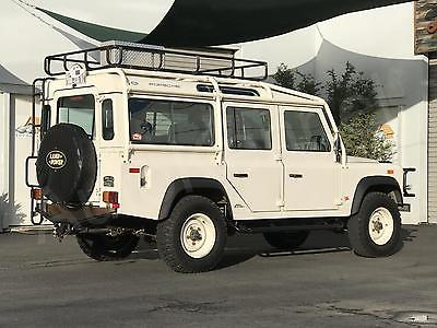 1993 Land Rover Defender NAS 110 1 of 500 U.S. NAS 110s Built 1-Owner Pike's Peak Champion Jeff Zwart SoCal Deliv