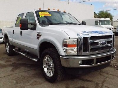 2008 Ford F-350 Super Duty Lariat 4dr Crew Cab 4WD SB Diesel 2008 Ford Super Duty F-350 6.4L Turbo Diesel 4x4 POWERSTROKE V8