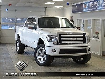 2011 Ford F-150  11 ford f150 lariat limited supercrew crew 4wd sony navi gps rear view cam