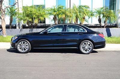 2016 Mercedes-Benz C-Class 4dr Sedan C300 RWD 2016 Mercedes-Benz C-Class 4dr Sedan C300 RWD 11783 Miles Black Sedan 2.0L 4 CYL