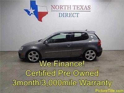 2008 Volkswagen Golf Base Hatchback 2-Door 08 GTI 2.0L Turbo Neuspeed Intake Warranty Brand New Tires WE FINANCE Texas