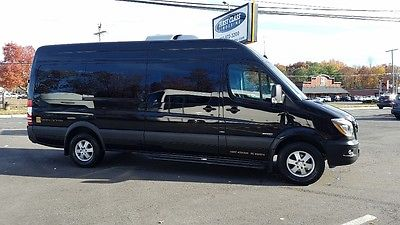 2015 Mercedes-Benz Sprinter Enhanced Mercedes Sprinter 2015 170 Passanger Shuttle Van - HID Nav Active Safety