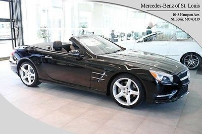 2016 Mercedes-Benz SL-Class SL400 2016 Mercedes-Benz SL-Class 11 Miles Black Roadster V-6 cyl Automatic
