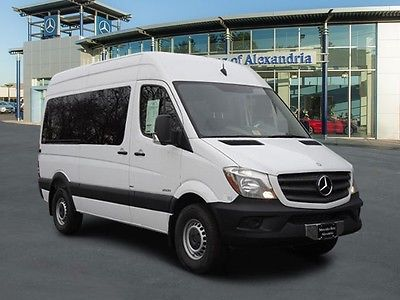2015 Mercedes-Benz Sprinter 2500/144 High Roof Passenger or Crew Van 2015 Mercedes-Benz Sprinter 2500 144 Passenger or Crew Van 3.0L V6 DOHC Tu