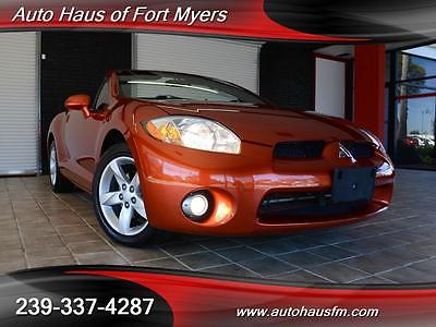 2008 Mitsubishi Eclipse Spyder GS Convertible 2-Door We Finance & Ship Nationwide Fully Serviced Rockford Fosgate Audio