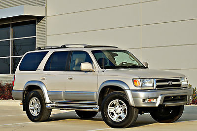 2000 Toyota 4Runner Limited Sport Utility 4-Door 2000 Toyota 4Runner Limited 4WD * Timing belt done! 165k miles! Clean Carfax!