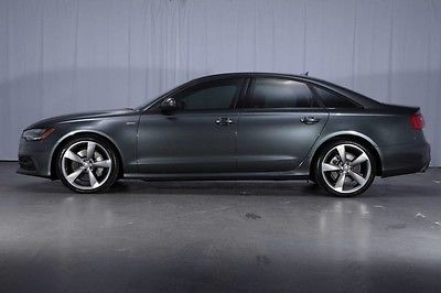 2014 Audi A6 $66,295 MSRP PRESTIGE Driver Assist Black Optic SPORT Pkg 20's LED's QUATTRO