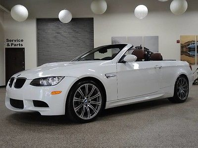 2011 BMW M3 2011 BMW M3 Convertible with 30,000 Miles, 6 Speed Manual Transmission