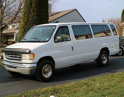 1997 Ford E-Series Van 7.3 DIESEL  1997 Ford E350 15 Passenger Van - 7.3 Powerstroke Diesel 7.3L Turbo