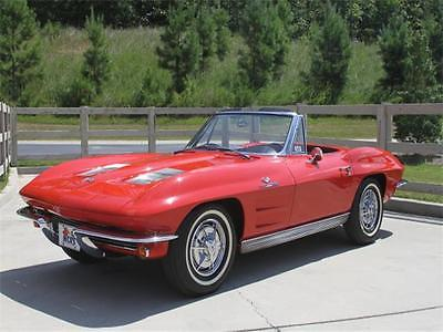 1963 Chevrolet Corvette Fuelie 1963 Chevrolet Corvette Fuel Injected Convertible - NCRS Top-Flight Frame-Off Re