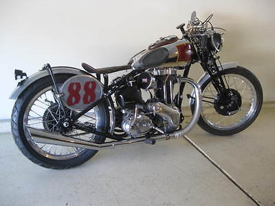 1945 Other Makes Ariel red hunter  1945 Ariel red hunter 500 single vintage road racer   ajs bsa triumph matchless