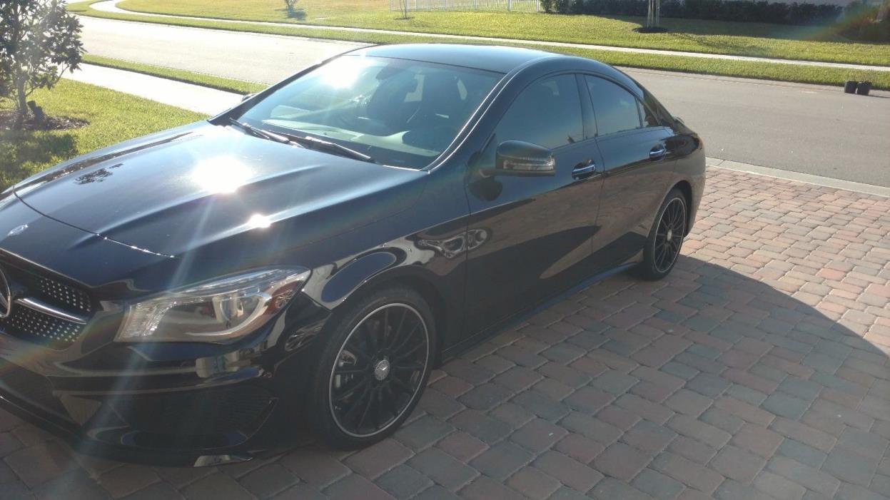 2016 Mercedes-Benz CLA250 Sport Sedan 4-Door 2016 Mercedes-Benz CLA250 Sport Sedan 4-Door 2.0L