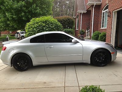 2006 Infiniti G35 Base Coupe 2 Door Infiniti G35