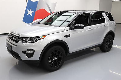 2016 Land Rover Discovery  2016 LAND ROVER DISCOVERY SPORT HSE AWD SUNROOF NAV 5K #624707 Texas Direct Auto