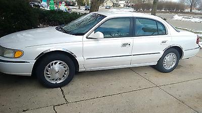 1998 Lincoln Continental Base Sedan 4-Door Lincoln Continental 1998 Needs transmission rebuild