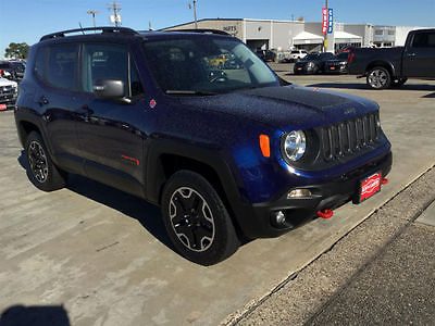 2016 Jeep Renegade Trailhawk 2016 Jeep Renegade