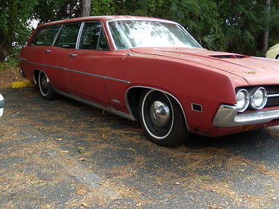 1971 Ford Torino WAGON 1971 FORD TORINO STATION WAGON, V8,GREAT PATINA,LOWERED,NEW INTERIOR,NEW WHEELS