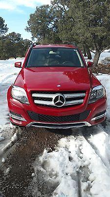 2013 Mercedes-Benz GLK-Class Chrome 2013 Red Mercedes-Benz GLK 350
