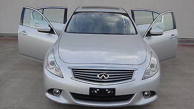 2012 Infiniti G37 G37X 2012 Infiniti G37 Sedan Navigation Rear View Camera Heated Seats Sunroof AWD