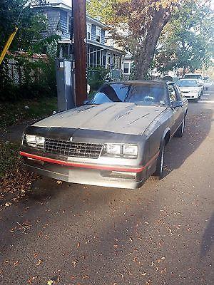 1987 Chevrolet Monte Carlo  87 Monte Carlo SS