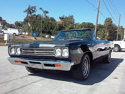 1969 Plymouth Road Runner Base 1969 Roadrunner Convertible, rotisserie restoration just completed