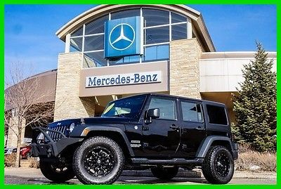 2013 Jeep Wrangler 2013 Jeep Unlimited Sport 2013 Sport Used 3.6L V6 24V Manual 4WD SUV