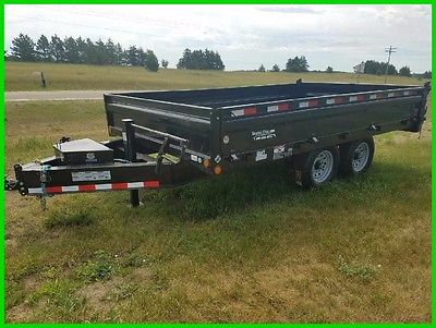 2017 Load Trail 14' Deck Over Dump New